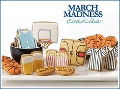 March Madness Cookies