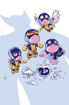 Baby Heroes – The cute Super Heroes by Skottie Young