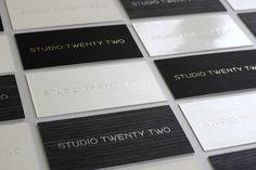 Studio Twenty Two Business Cards
