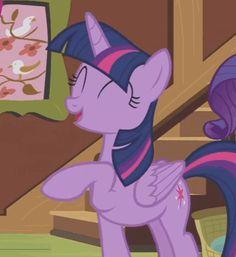 #1425621 - adorkable, alicorn, animated, cropped, cute, fluttershy leans in, hoofy-kicks, princess twilight, safe, screencap, spoiler:s07e05, twiabetes, twilight sparkle - Derpibooru - My Little Pony: Friendship is Magic Imageboard