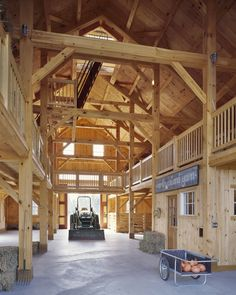 Umm I think my husband would kill for this barn....