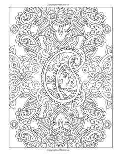 Creative Haven Mehndi Designs Coloring Book: Traditional Henna Body Art (Creative Haven Coloring Books): Marty Noble, Creative Haven: 9780486491264: Amazon.com: Books