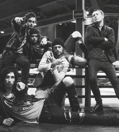 lol <3 Danny Worsnop, Ben Bruce, Sam Bettley, James Cassells and Cameron Liddell from Asking Alexandria