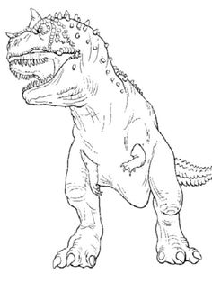 t rex coloring page jurassic world