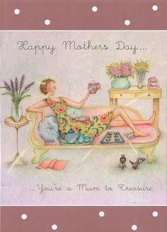 Happy Mother's Day , Ladies Who Love Life ... Berni Parker  cute