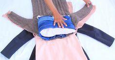 Jak si zabalit oblečení do příručního zavazadla