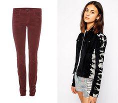 cord pants and jacket.