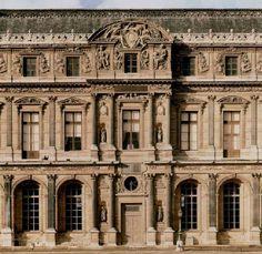 PIERRE  LESCOT  ( 1510 - 1578 )  Museu do Louvre ( fachada )  Paris