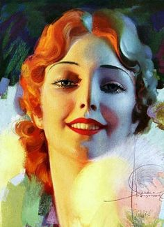 rolf armstrong   Rolf Armstrong by mmmmm girl, via Flickr