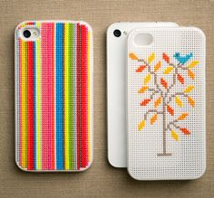 embroidered phone covers