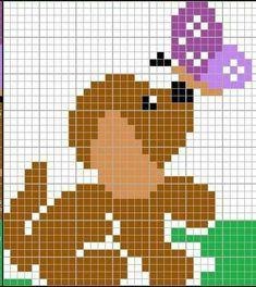 Cross Stitching, Cross Stitch Embroidery, Cross Stitch Patterns, Knitting Charts, Baby Knitting, Beading Patterns, Embroidery Patterns, Broderie Simple, Christmas Stocking Pattern