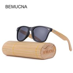 bf0f0d6c2bf 2017 New BEMUCNA Bamboo Sunglasses Men Wooden glasses Women Brand Wood Sun  Glasses Women Men