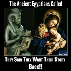 The Ancient Egyptians called - they said they want their story back!