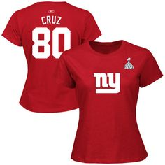 Fitted NY Giants Victor Cruz Jersey