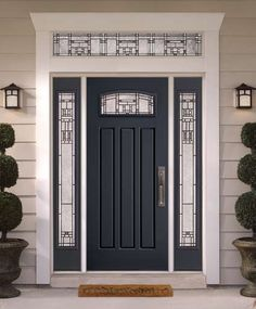 Sidelights _ Design-Pro Fiberglass Glass Panel Exterior Door | JELD-WEN Windows \u0026 Doors _ //.jeld-wen.com/en-us/products/exterior-doors/st\u2026 & Sidelights _ Design-Pro Fiberglass Glass Panel Exterior Door | JELD ...