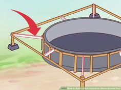 How to Build a Deck Around an Above Ground Pool. When you build a deck around an above-ground pool, you instantly increase the value, attractiveness and functionality of your.
