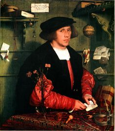 Hans Holbein the Younger Art | Hans_Holbein_the_Younger_-_George_Gisze_-_1532.jpg