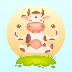 How you can Create a Meditating Cartoon Cow in Adobe Illustrator Illustrator Herramientas obtain Illustrator Cs6, Adobe Illustrator Tutorials, Cartoon Cow, Cute Cartoon, Graphic Design Trends, Graphic Design Tutorials, Affinity Designer, Grafik Design, Cartoon Drawings
