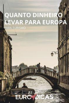 Quando chega a hora de preparar sua tão sonhada viagem para Europa é preciso separar o dinheiro que você guardou para trocar por euros. #eurotrip #viagem #europa #tips