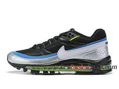 sale retailer 6ff10 dcfa8 Running Nike Air Max 97 BW Chaussures Nike Officiel 2019 Pas Cher Pour Homme  Noir Vert
