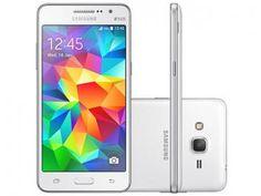 Smartphone Samsung Galaxy Gran Prime Duos 8GB - Branco Dual Chip 3G Câm. 8MP…
