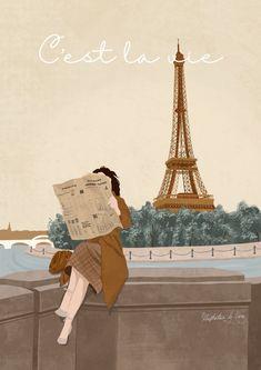 Illustration Girl, Digital Illustration, Digital Art Girl, Cartoon Art Styles, Anime Art Girl, Cute Wallpapers, Cute Art, Art Drawings, Cover