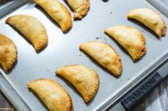 These baked empanadas are filled with a slightly spiced beef and chorizo picadillo filling that make them perfect for game day or holiday entertaining.   more