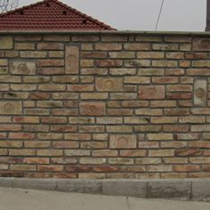 Brickwork, Fence, Gate, Garage Doors, Construction, Building, Outdoor Decor, House, Beautiful