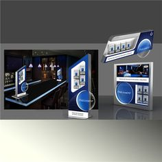 costom new style LED acrylic tobacco/cigarette display
