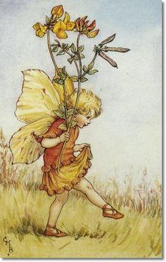 Cicely Mary Barker - Flower Fairies, Birdsfoot Trefoil
