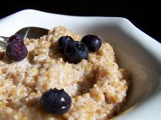 Bulgur Breakfast - an oatmeal substitue