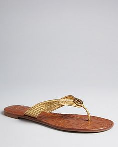 0bfaa2a25 Tory Burch Thong Flip Flop Sandals - Thora 2