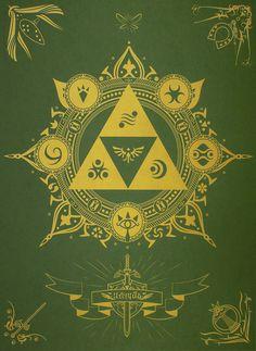 Legend of Zelda print - Album on Imgur