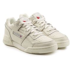 0673410f89870c reebok workout plus vintage Reebok White Sneakers