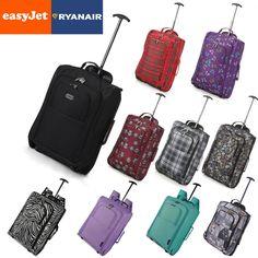 EasyJet & Ryanair Wagen Kabinen Handgepäck Fortführen Koffer Tasche Passt in Reisen, Reisekoffer & -taschen, Bordgepäck | eBay