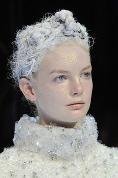 Fashionising.com's Fashion Blog: Fashion Trends & Celebrity Fashion - Beauty at Moncler Gamme Rouge Autumn (Fall) / Winter 2013