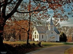 Bethel Church in Daviess County, Indiana, founded in 1815. Photo by James Lee Martin.