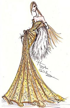 The Champagne Dress by Hayden Williams