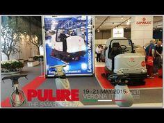 Уборочная техника Comac (Италия) на выставке клининга Pulire 2015