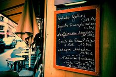 """How to dine in Paris without making an ass of oneself. All those French classes are coming back to me ... """"Garçon! L'addition, s'il vous plait."""""""