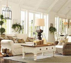 Living room --  a nice clean look