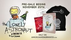 Pre-order details for Tom DeLonge's 'The Lonely Astronaut on Christmas Eve' announced http://boystereo.com/1aGE3Ls