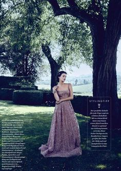 """Dreaming of Dior: """"Princess Charming"""" by Pasquale Abbattista for ELLE Germany October 2015"""