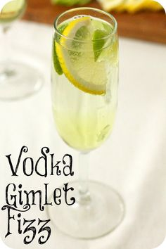 Vodka Gimlet Fizz