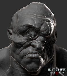 Ciklop, The Witcher 3 , Wild Hunt, Antonio Jose Gonzalez on ArtStation at https://www.artstation.com/artwork/r0P42