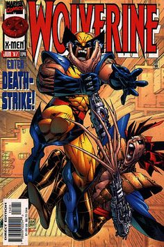 Wolverine Vol. 2 # 114 by Adam Kubert