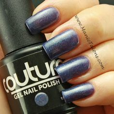 Couture Gel Nail Polish Vintage Denim
