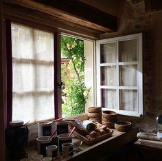 A beautiful breakfast at Levernois #BurgundyAwaits