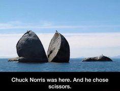 Chuck Norris chose scissors #Chuck, #ChuckNorris, #Norris, #Paper, #Scissors, #Stone