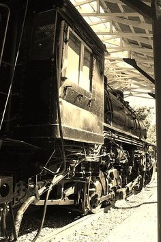 All Aboard by Bruce Bley #train #locomotive